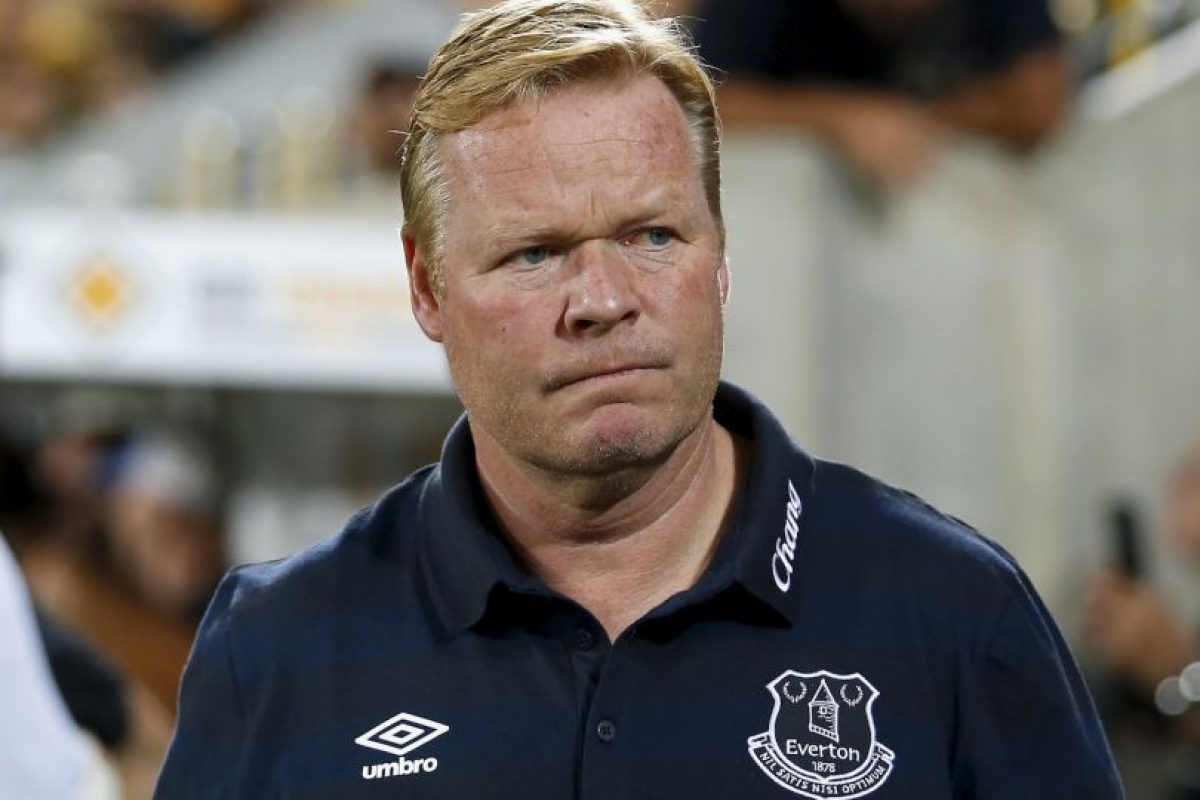 9.- Ronald Koeman (Everton) Foto: Getty Images. Imagen Por: