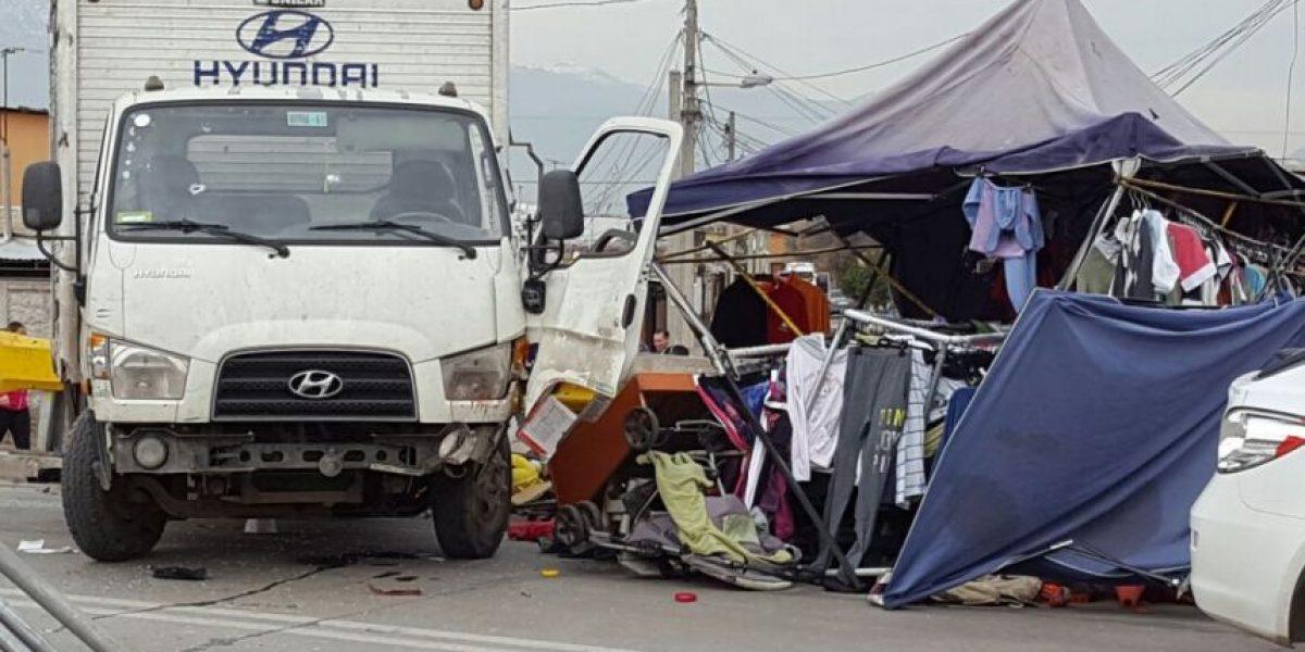 Padre de menor de 12 años que robó camión: