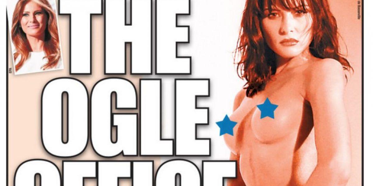 Diario publica las fotografías desnuda de la esposa de Donald Trump