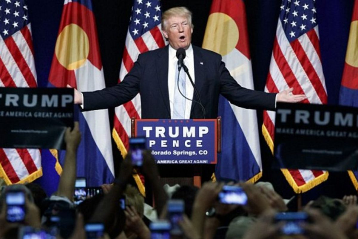 """Trump afirma que ya no será """"bueno"""" con Hillary. Foto:Getty Images. Imagen Por:"""