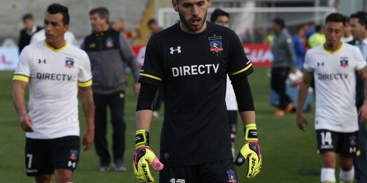 Camarín de Colo Colo respalda a Paulo Garcés: