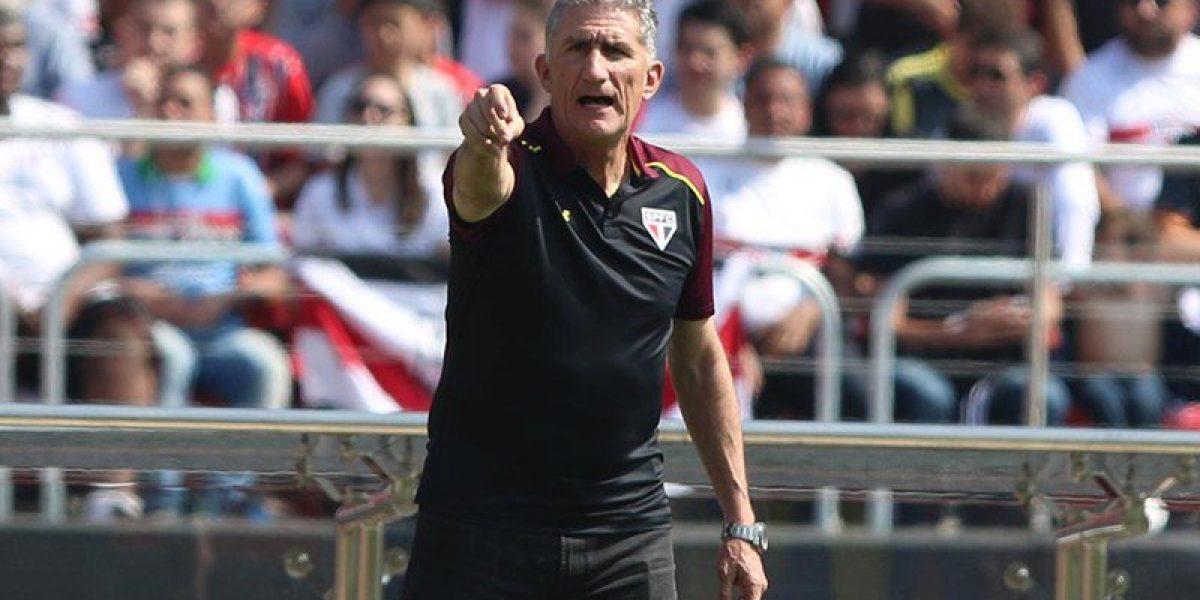 El ex Unión Christian Cueva fue figura en empate del Sao Paulo de Eugenio Mena