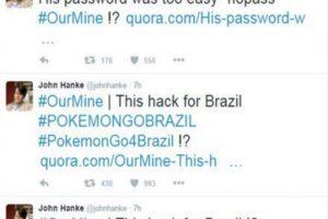 Twitter del CEO de Niantic hackeado por brasileños. Foto:Twitter. Imagen Por: