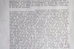 La primera parte de la carta. Foto:Gentileza. Imagen Por: