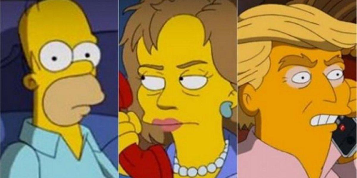 ¡Homero Simpson revela por quién votará en las elecciones de Estados Unidos!