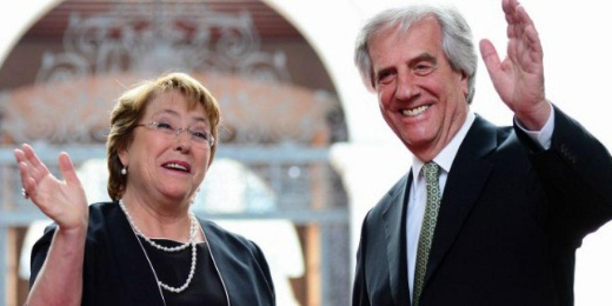 Uruguay espera firmar TLC con Chile en septiembre