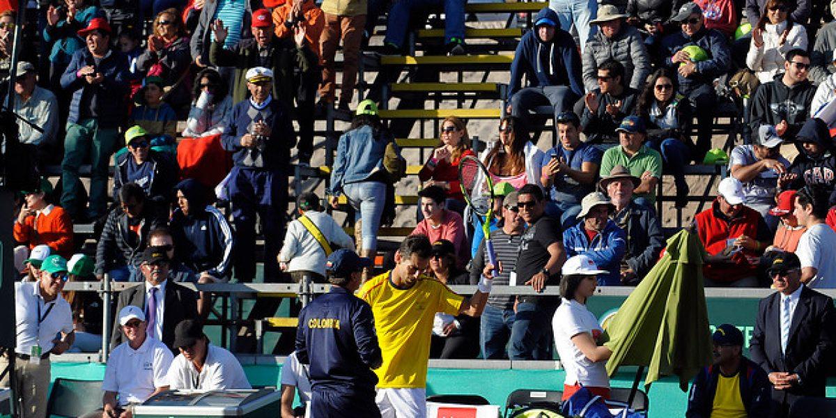 Siguen las quejas: Colombia demandó formalmente triunfo de Chile en Copa Davis