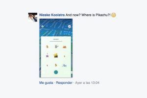 """""""¿Y ahora? ¿En dónde está Pikachu?"""" Foto:Facebook. Imagen Por:"""