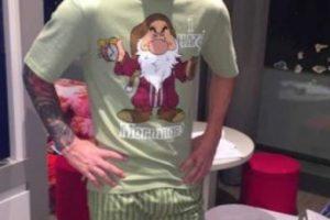Antes, Luis Suárez le regaló esta pijama tan original. Foto:Instagram. Imagen Por: