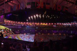 Las imágenes filtradas del último ensayo general de la inauguración de Río 2016 Foto:Twitter. Imagen Por: