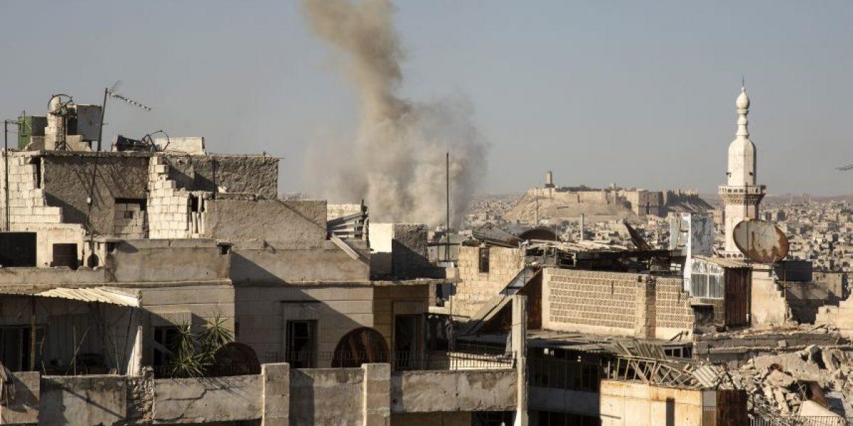 Ataques lanzados por rebeldes sirios dejan 28 civiles muertos en Alepo