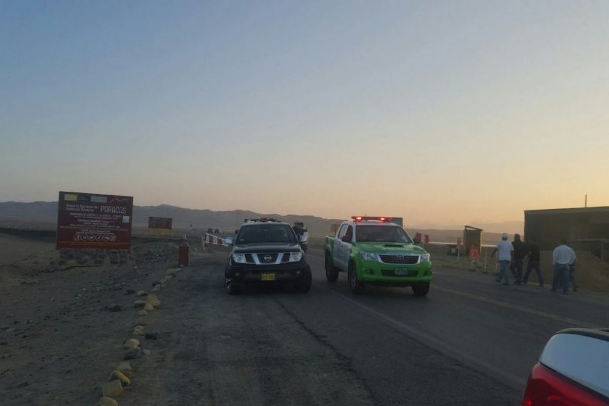 La actividad se detectó por un operador turístico Foto:Facebook.com/Sernanp-Oficial. Imagen Por: