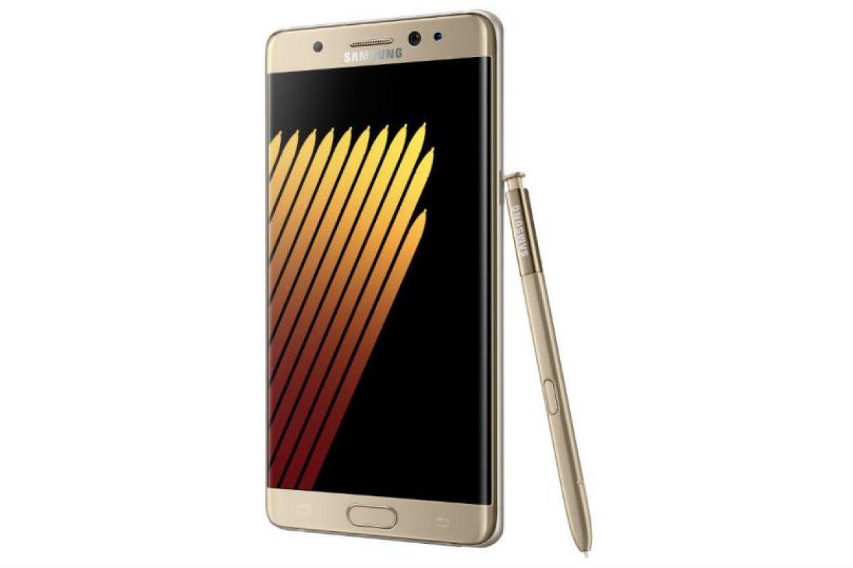 El Galaxy Note 7 estará disponible en 3 colores: Foto:Samsung. Imagen Por: