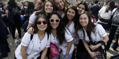 """Así fue la """"Marcha de las enfermeras"""" que se tomó La Alameda"""