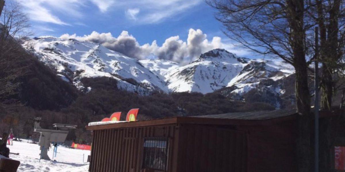 Volcán Nevados de Chillán se mantiene con alerta amarilla tras nuevo pulso eruptivo