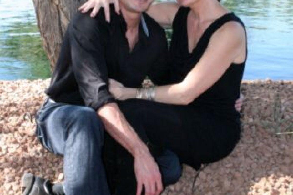 Con su nueva mujer. Foto:Getty Images. Imagen Por: