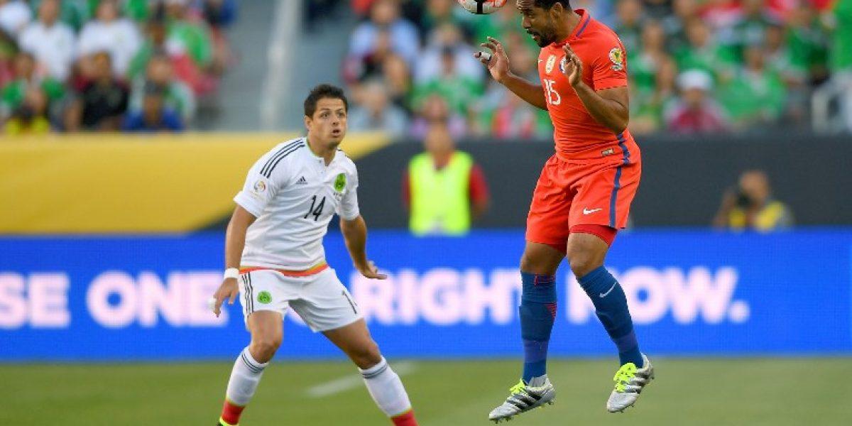 Chicharito Hernández aún llora por el 7-0 de Chile a México: