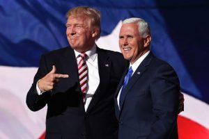 Otra encuesta difundida por Reuters da 40% a la demócrata y 35% al republicano Foto:Getty Images. Imagen Por: