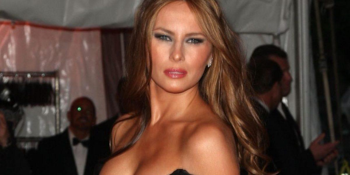 Revelan fotos de la esposa de Donald Trump totalmente desnuda