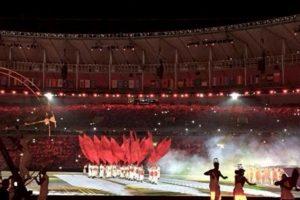 Miren las imágenes filtradas en las redes del último ensayo general de la ceremonia de inauguración de los Juegos Olímpicos de Río 2016 Foto:Twitter. Imagen Por: