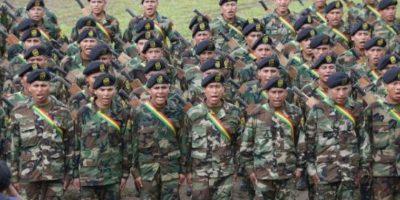 Evo Morales: militares bolivianos están preparados para
