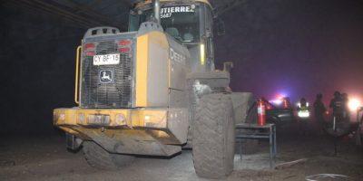 Desconocidos queman maquinaria agrícola al interior de empresa en Temuco