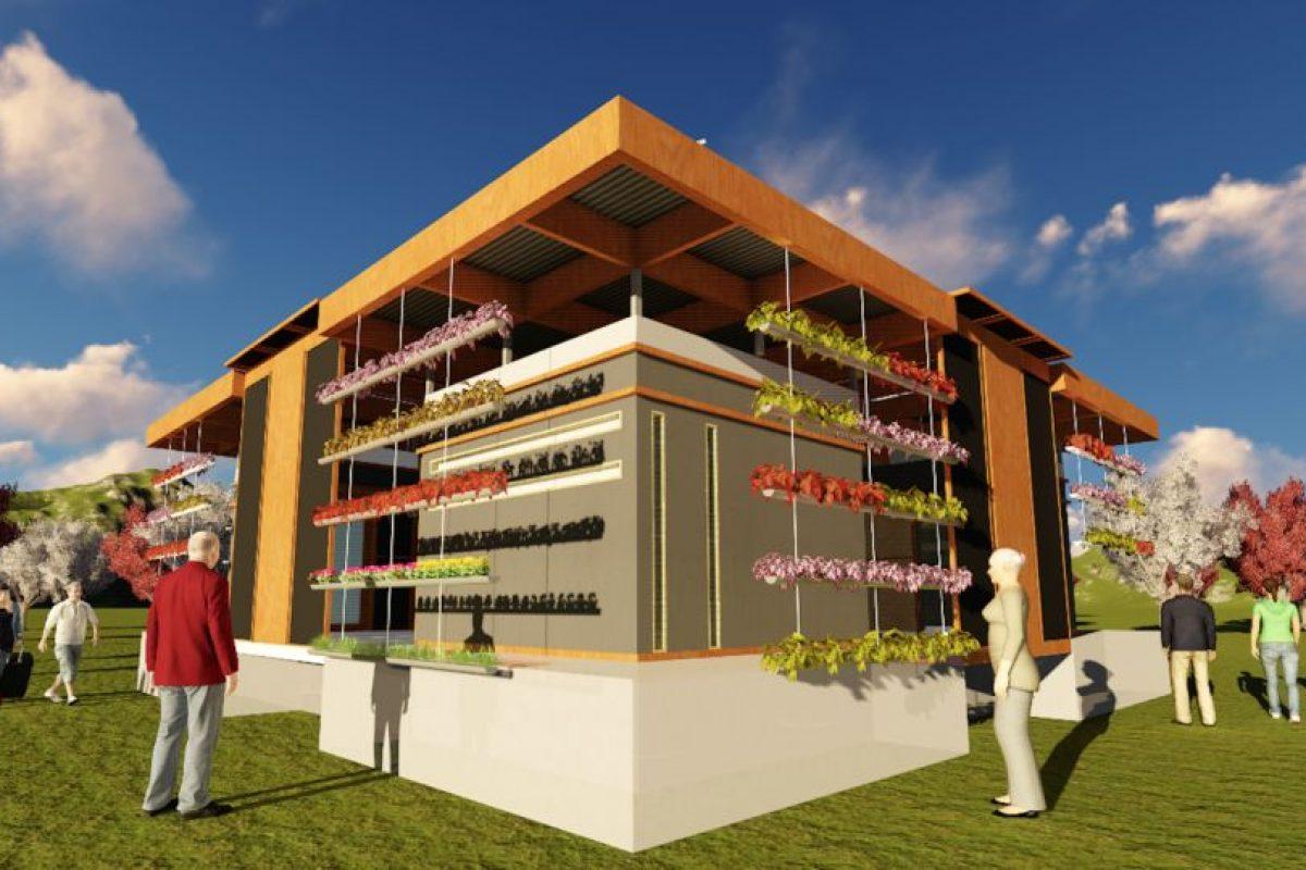 Propuesta Universidad de Las Américas Foto:Gentileza Minvu. Imagen Por: