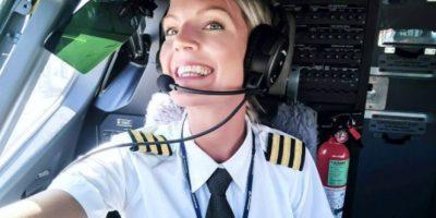 La piloto más bella de Instagram