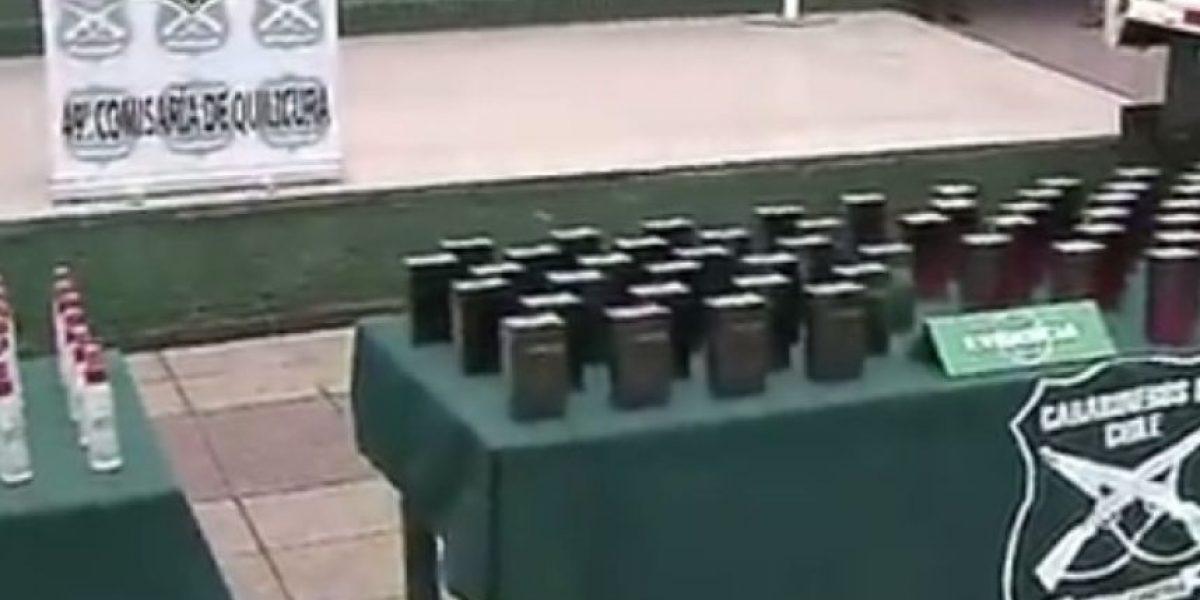Un detenido dejó persecución policial tras millonario robo de camión con perfumes
