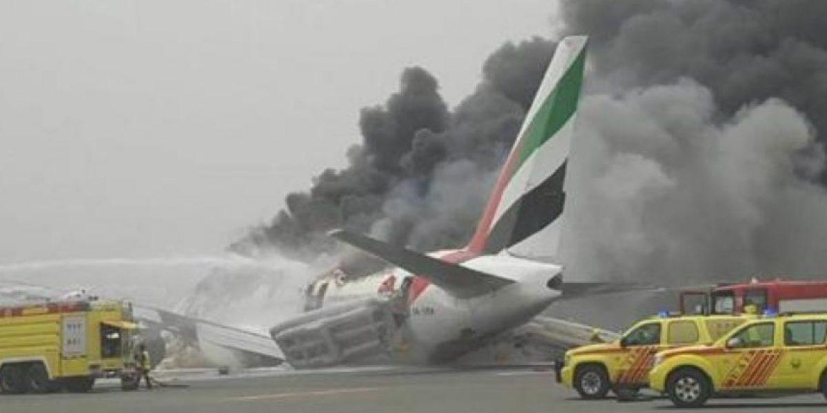 Emergencia en aeropuerto de Dubai: avión de Emirates sufre accidente al aterrizar