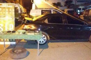 Parte de lo recuperado por la policía uniformada. Foto:Gentileza. Imagen Por: