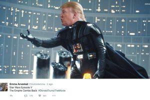 """The Empire Combs Back"" (El imperio se peina hacia atrás) Foto:Twitter.com. Imagen Por:"
