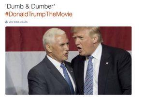 """""""Dumb & Dumber"""" (Tonto y más tonto) Foto:Twitter.com. Imagen Por:"""