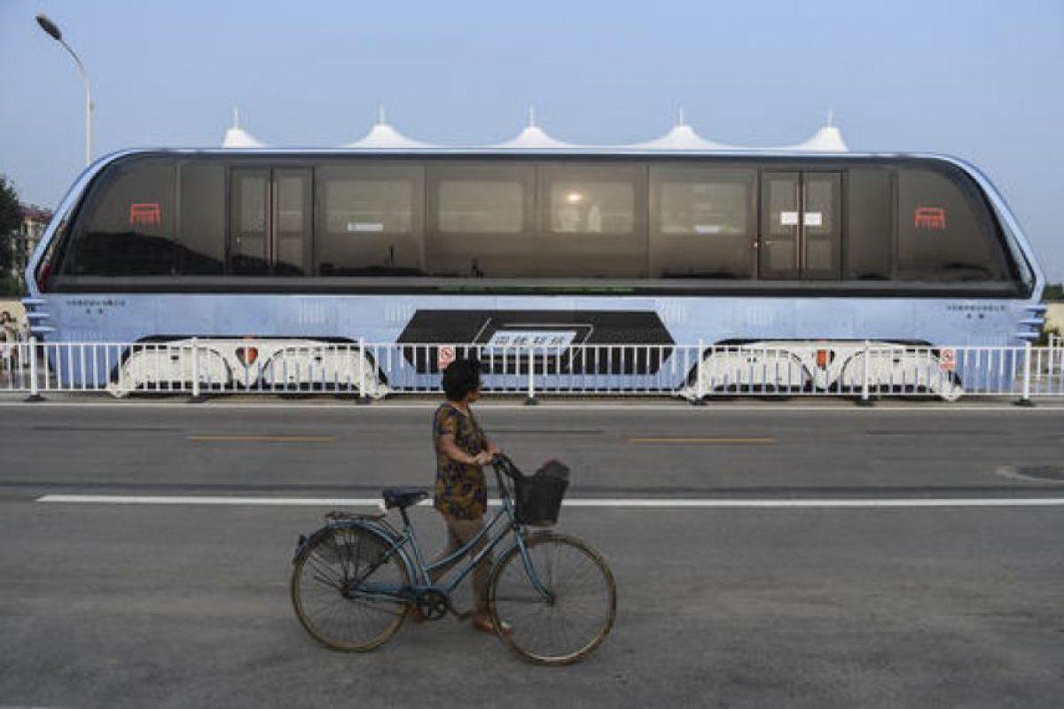 Podrá reemplazar a 40 autobuses Foto:AP. Imagen Por: