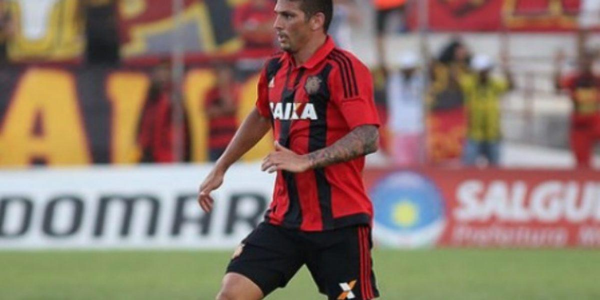 Mark González dejó atrás las lesiones y marcó de cabeza en empate del Sport Recife