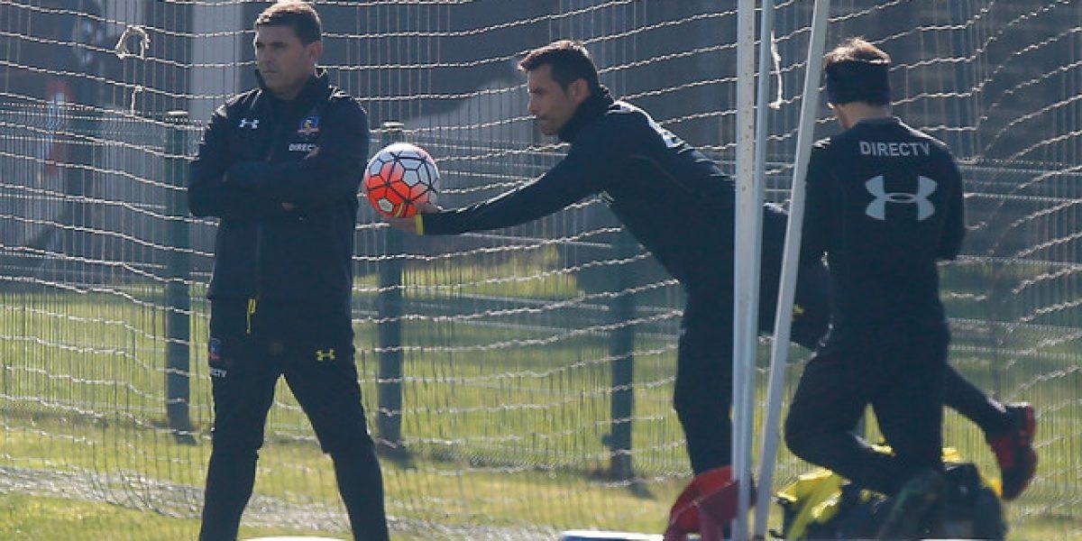 Garcés seguirá siendo el titular en Colo Colo: Villar no se recuperó y es baja ante Audax