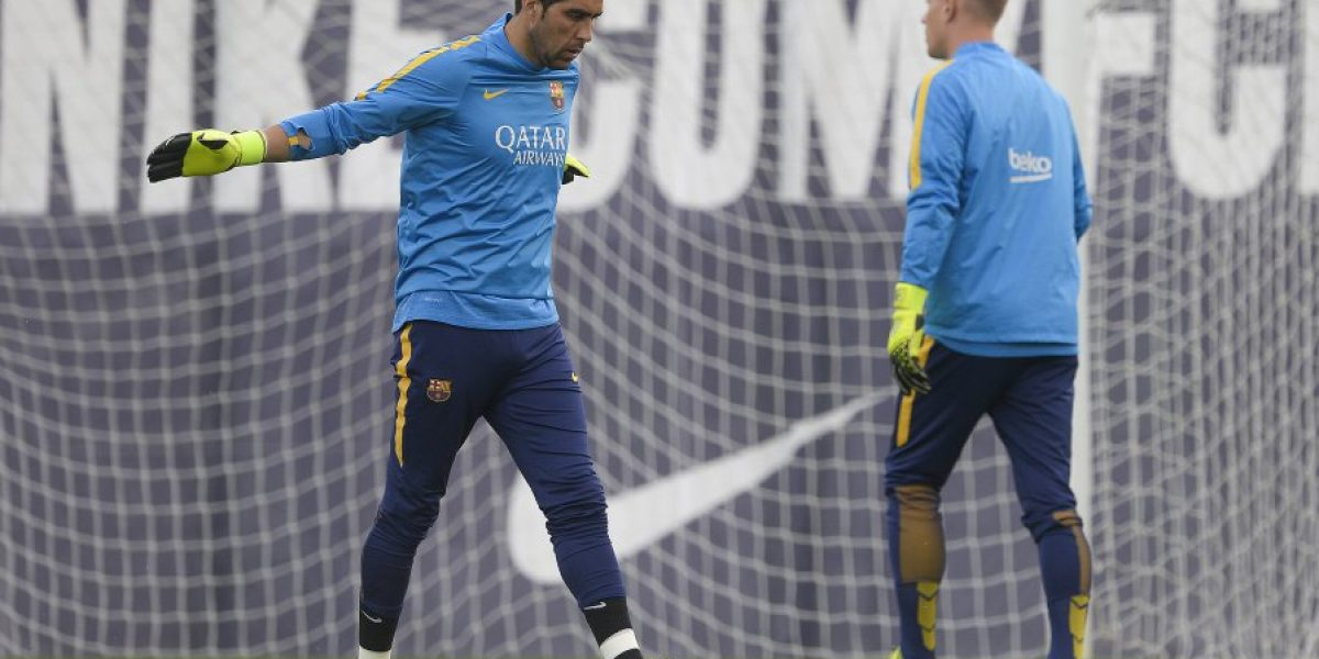 Barcelona tiene listo a su nuevo portero en caso de que se vaya Bravo o Ter Stegen