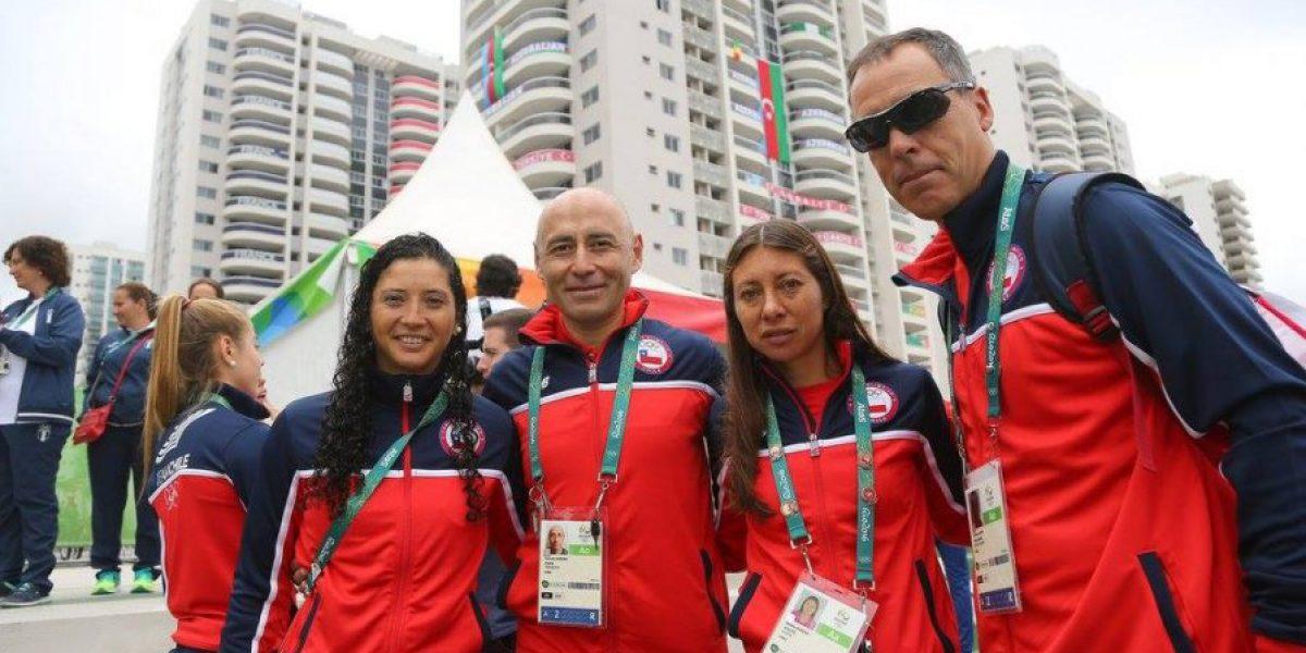 Ministra Riffo acompañó a la delegación en el izamiento de la bandera chilena en Río 2016