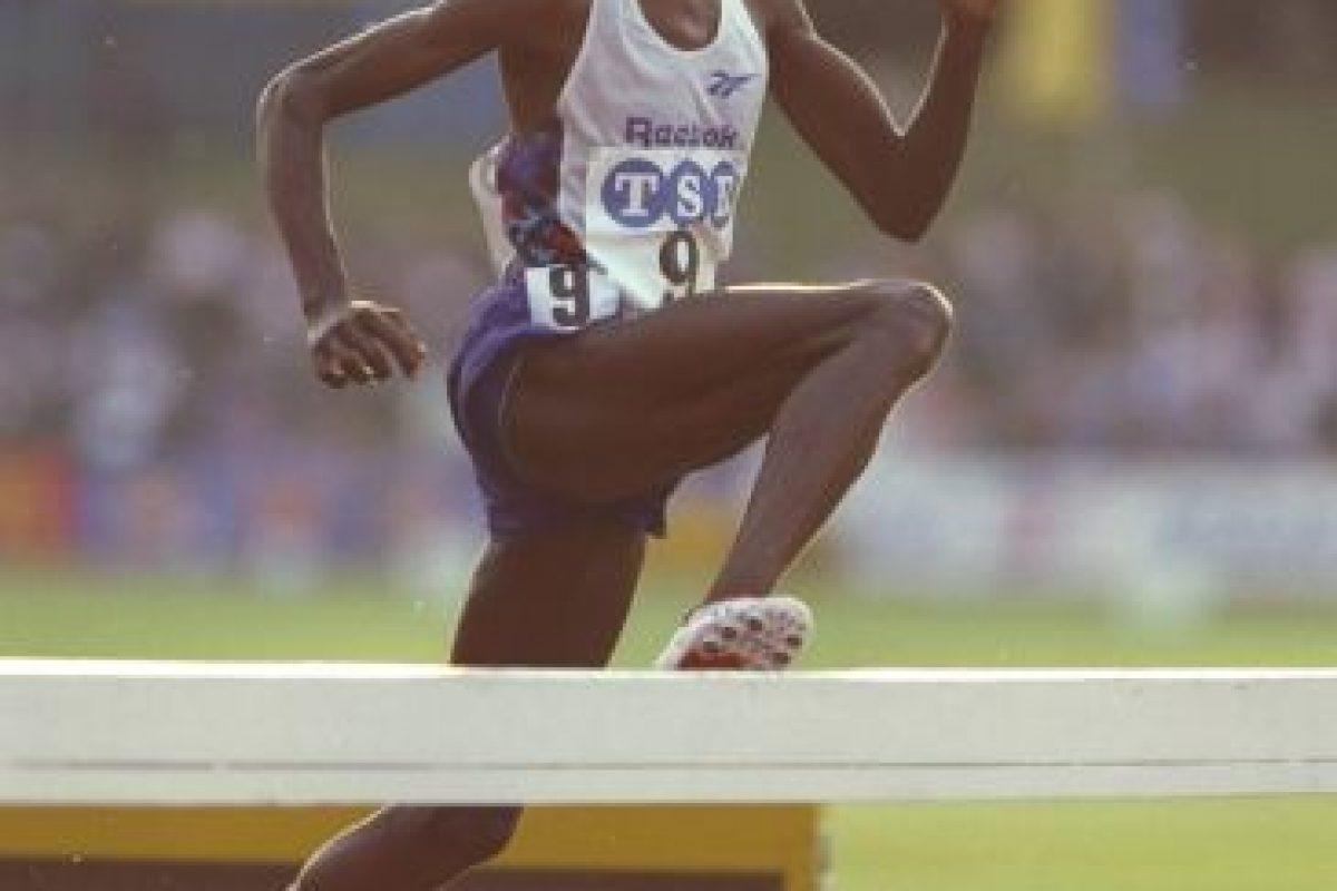3000 metros obstáculos – Julius Kariuki (Kenia) Tiempo: 8:05.51 – Seúl 88 Foto:Getty Images. Imagen Por: