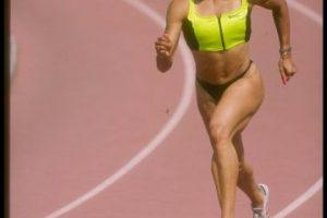 100 y 200 metros femeninos – Florence Griffith Joyner (Estados Unidos) – Seúl 1988 Foto:Getty Images. Imagen Por: