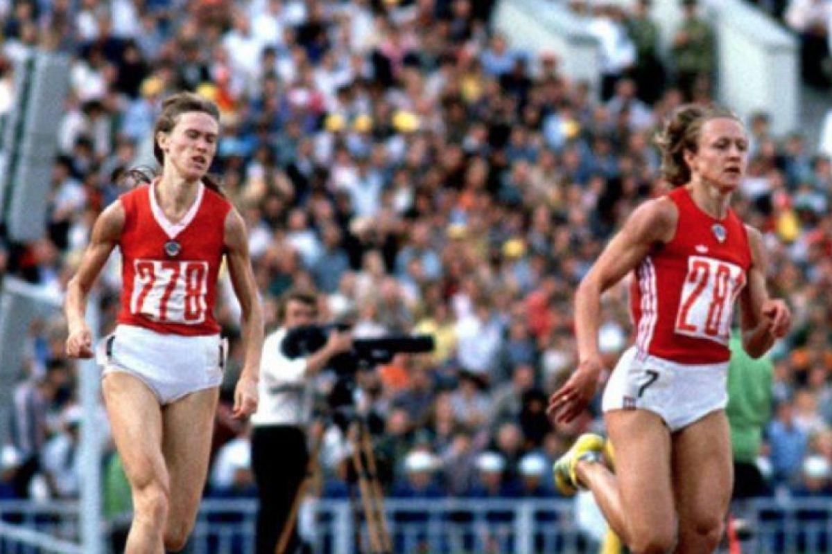 800 metros – Nadezhda Olizarenko (Unión Soviética). Tiempo: 1:53.43 – Moscú 80 Foto:Getty Images. Imagen Por:
