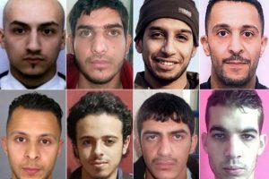 Miembros del equipo del Estado Islámico que atacaron París en noviembre Foto:Reproducción. Imagen Por: