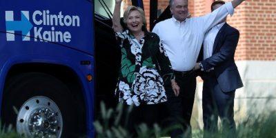 La fórmula demócrata Clinton-Kaine supera en 10 puntos a la republicana