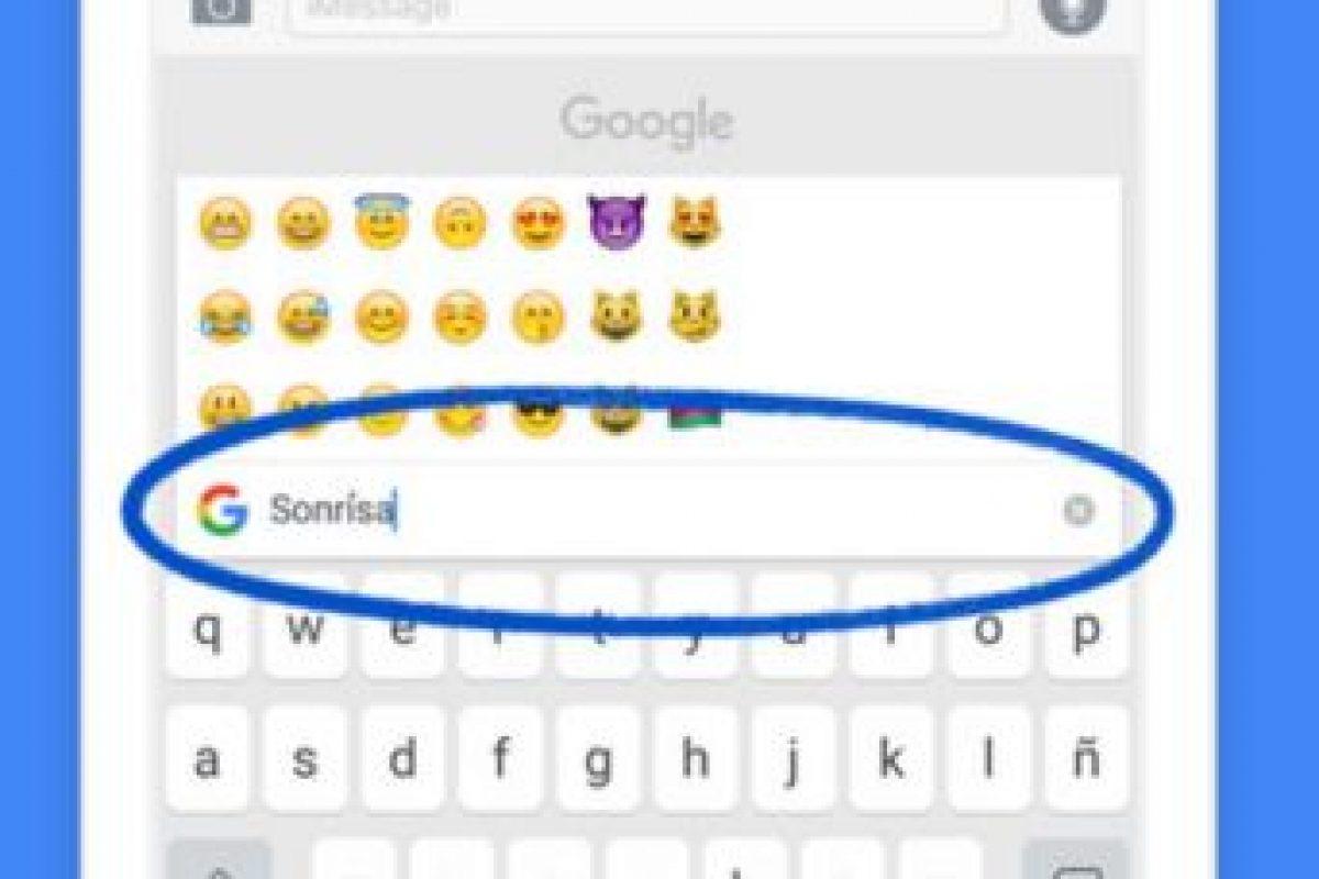 Además les sugerirá emojis. Foto:Google. Imagen Por: