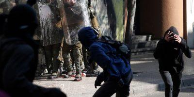 Marcha estudiantil: se registran incidentes aislados en la Alameda