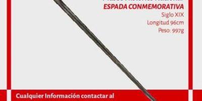 Se roban la espada del Presidente Bulnes del Museo Histórico Nacional