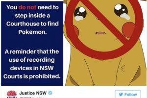 En la Corte, por que grabar o fotografías las sesiones suele estar prohibido en algunos países Foto:Twitter.com. Imagen Por: