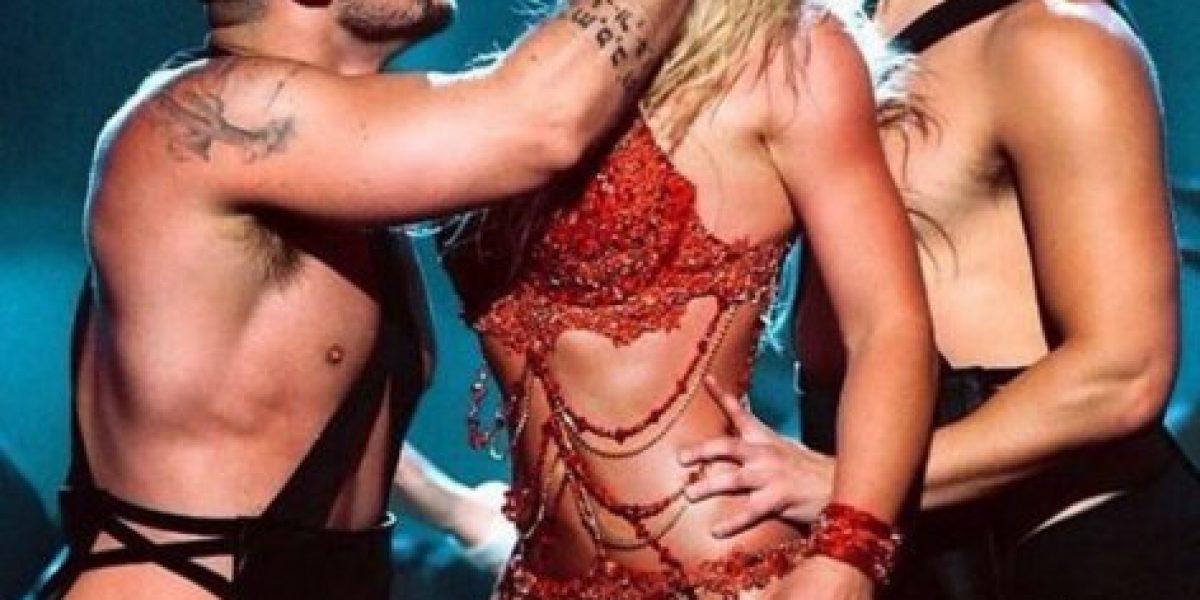 Britney Spears se metió a la cama de Jimmy Kimmel