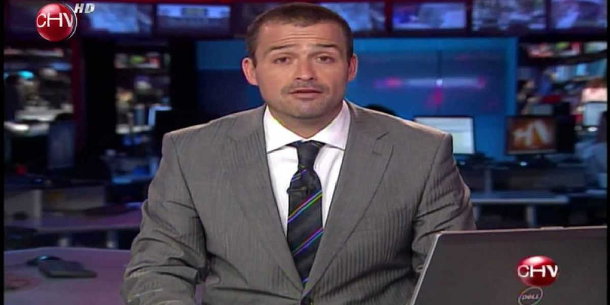 CHV informó en su noticiero el despido masivo de funcionarios del canal