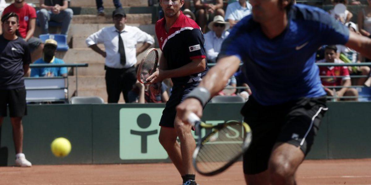 Julio Peralta y Hans Podlipnik tendrán un complicado camino en Río 2016